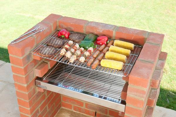 kit barbecue vertical